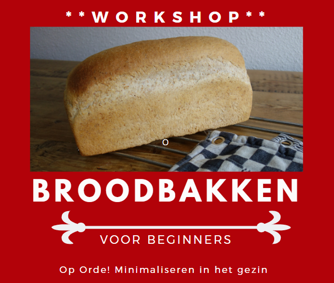 Workshop broodbakken voor beginners
