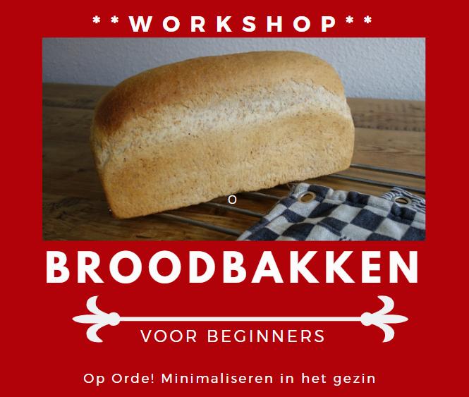 Workshop broodbakken (uitgesteld)