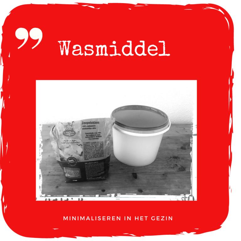 Wasmiddel