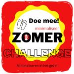 Minimaliseer Zomer Challenge 10 (laatste)